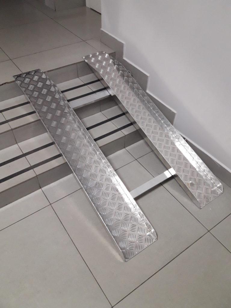 Бизнес - производство алюминиевых пандусов