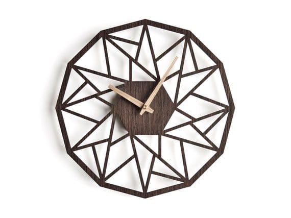 Часы додекагон