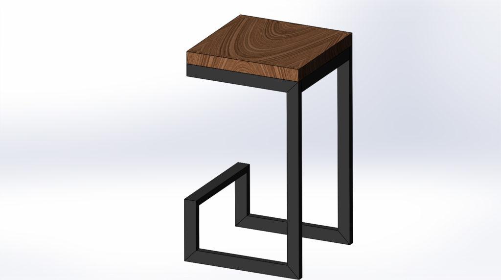 Стул в стиле лофт от little-biz