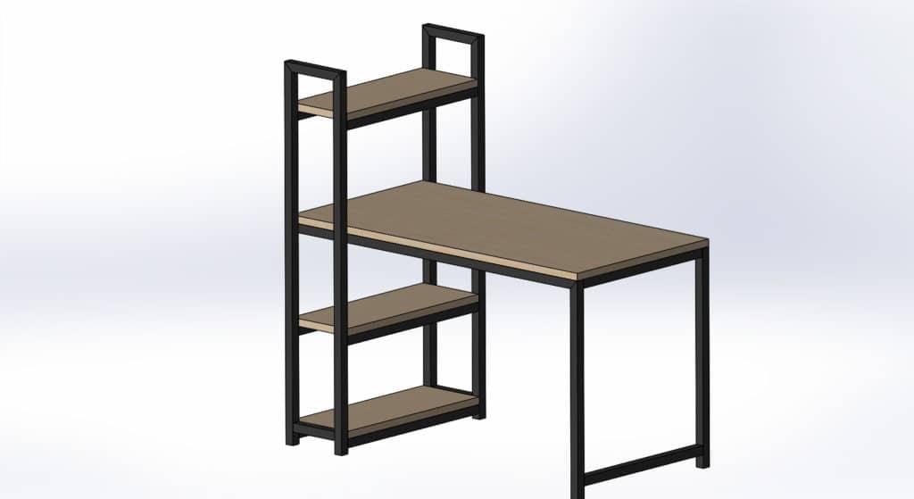 Стол в стиле лофт от little-biz