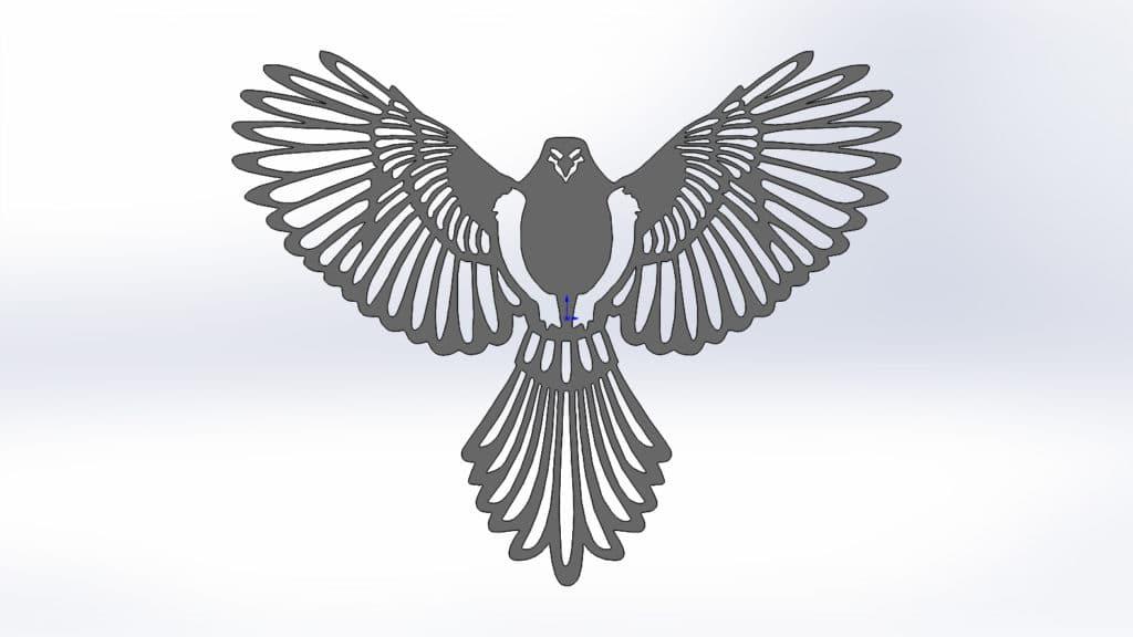 Чертежи для резки птицы