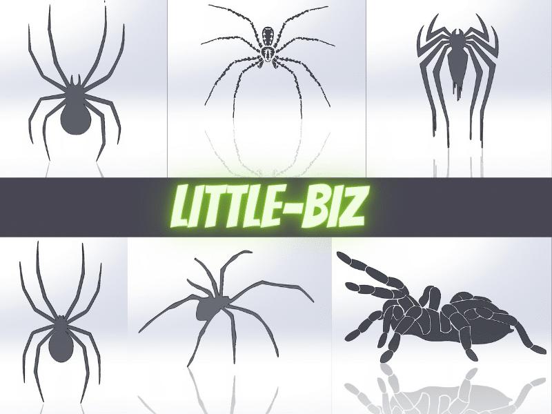 Чертежи для резки, файлы dxf, пауки